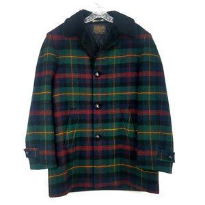 Pendleton Womens XL Wool Plaid Coat Vintage Jacket